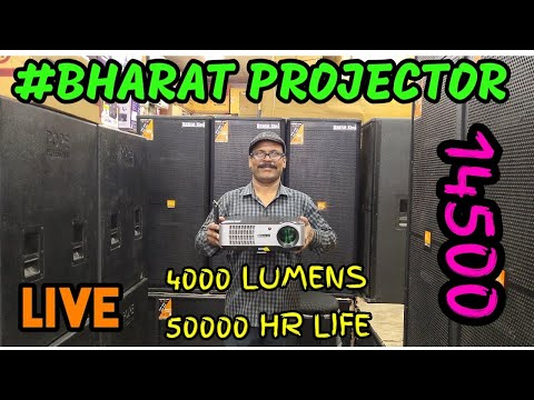 bharat-electronics---projector-,-best-projector,dj-system,dj-speakers,-big-projector,