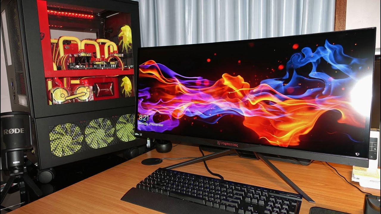 Acer Predator X34 Gaming Monitor Nvidia G Sync Small