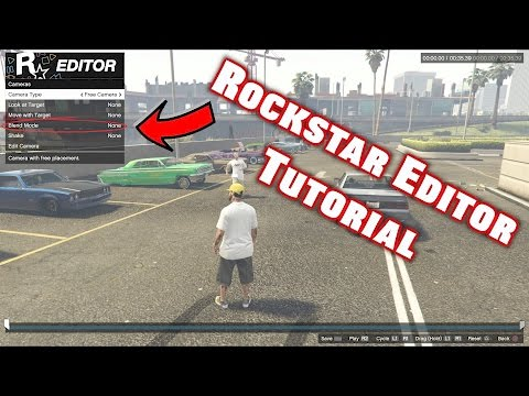 How to use the Rockstar Editor Tutorial PS4