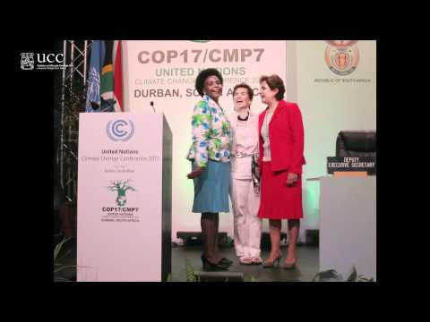 "Mary Robinson ""Climate Justice Post Durban"" at University College Cork (UCC)"
