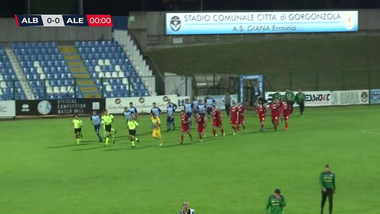 AlbinoLeffe Alessandria 4-1 highlights - YouTube