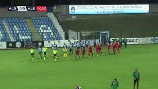 AlbinoLeffe Alessandria 4-1 highlights