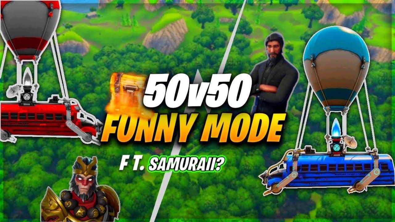 fortnite battle royale upgraded 50 v 50 gamemode v2 season 4 - 50 v 50 fortnite season 4