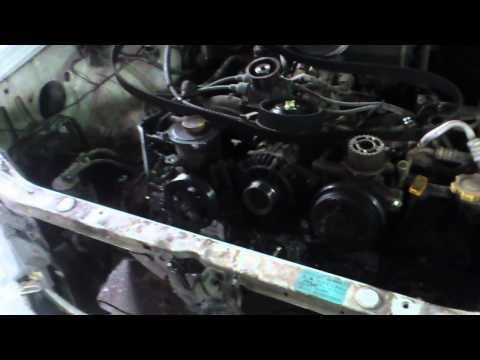 Наша жизнь 49 Subaru Forester замена сальников ГРМ и прокладки крышки клапанов