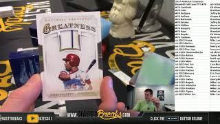 2 18 18 2017 National Treasures Baseball Full Case PYT #78