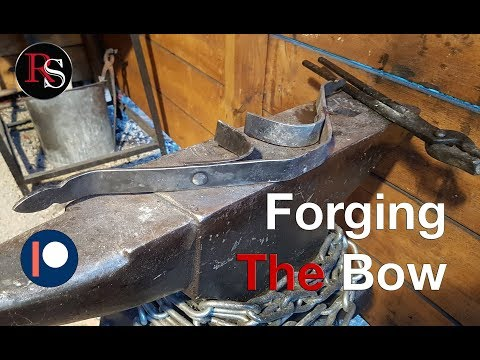 Making A Crossbow - Part II - Forging The Bow