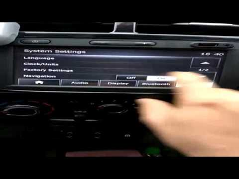 Renault kwid : how to reset media nav   If gives any problems