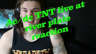 AC/DC TNT live at River Plate reaction