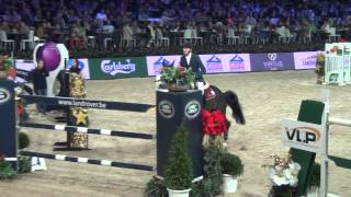 Qlassic Bois Margot and Simon Delestre World Cup Mechelen 2014 1st round