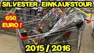 Silvester Feuerwerk Einkaufstour am 29.12.2015 | 650€ | MrPyroManager