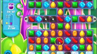 Candy Crush Soda Saga Level 513 - no boosts
