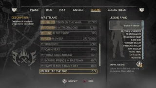 Madmax part 19 completing challenges and missions