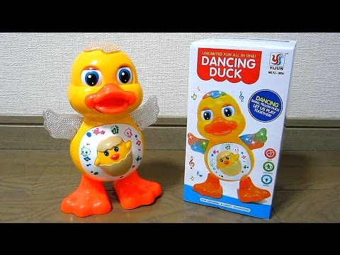 DANCING DUCK Musical Dancing Toys Duck Lights Action