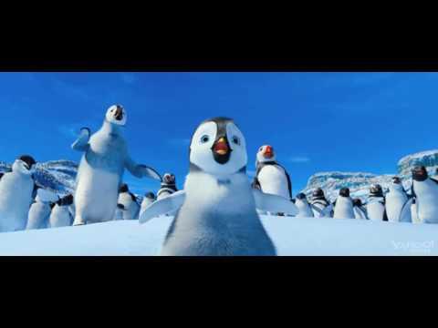 Мультфильм про пингвина танцующего