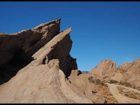 Visiting Vasquez Rocks