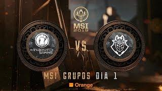INVICTUS GAMING VS G2 ESPORTS  | MSI 2019 | League of Legends