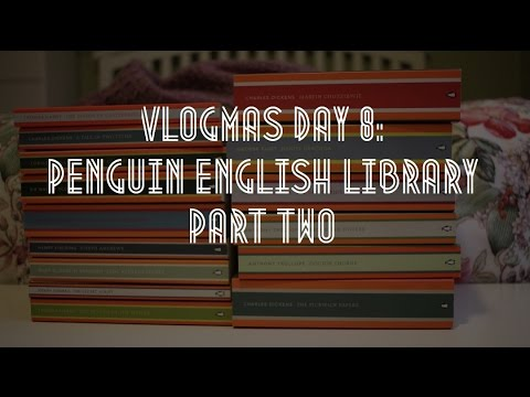 Vlogmas Day 8: Penguin English Library Part 2