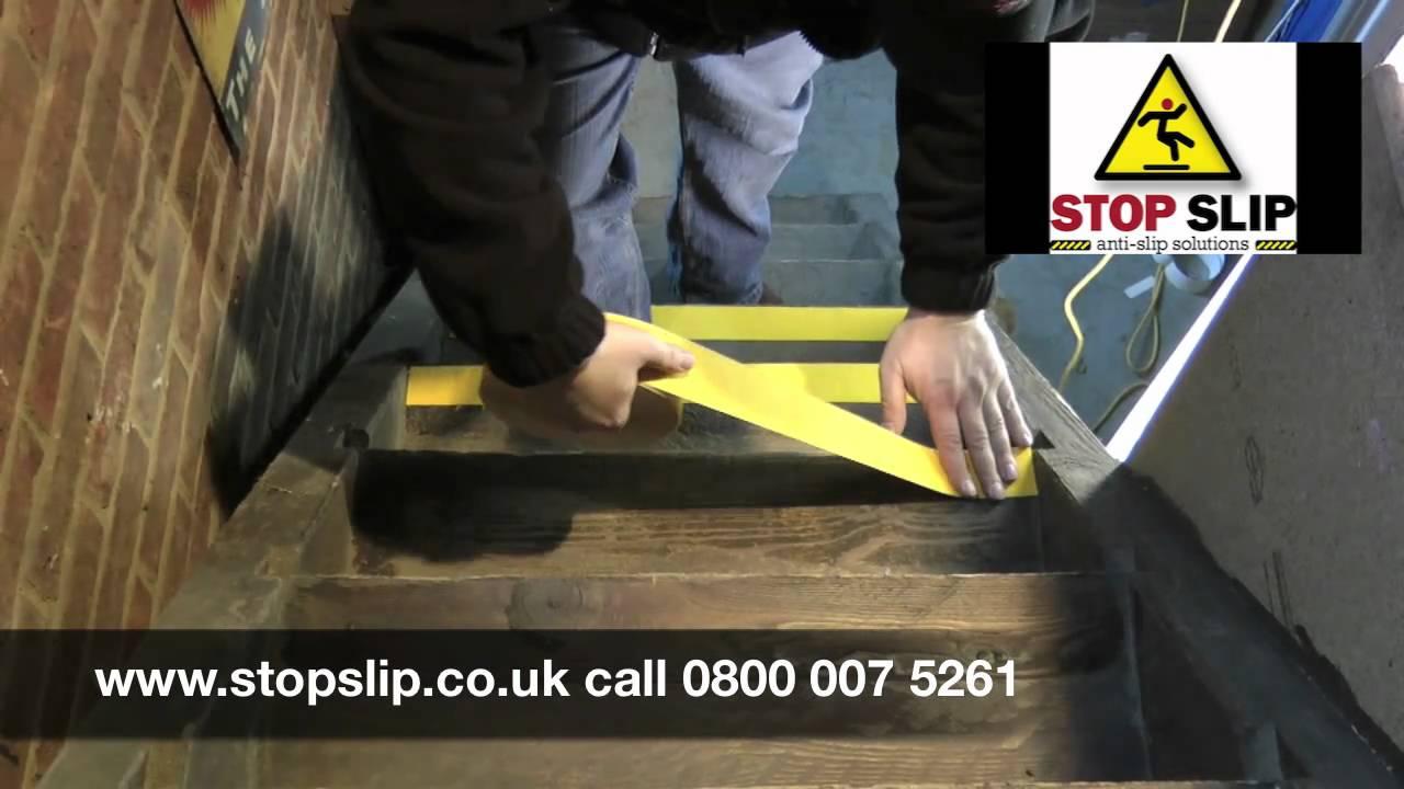 Anti Slip Tape Lication Instructions From Stop Ltd