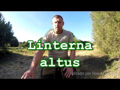Talla /única ALTUS LA411 Coal 9 Unisex Linterna Color Negro