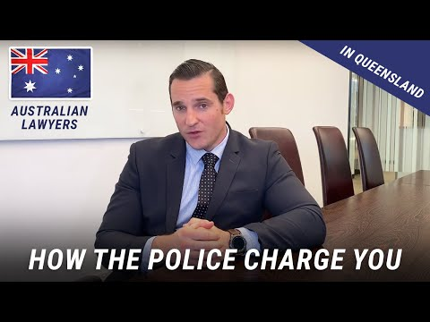 How the Police charge you in Queensland. Criminal Defence Solicitor. Australian Lawyers.