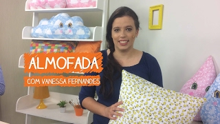 Almofada com Vanessa Fernandes