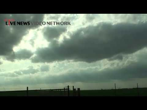 4/1/2014 TX/OK Storm Chase. Two cameras. ...