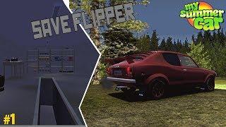Kiro Repairs: Flipping Not Mark's Save Game | My Summer Car #1