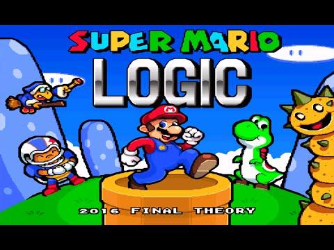 """Super Mario Logic """"TAP"""" (SMW HACK)"""