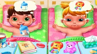 Fun Baby Care Kids Game  - Baby Twins Babysitter - Play Baby Care Dress Up Feeding Games For Kids