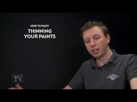 WHTV Tip of the Day - Thinning your paints.