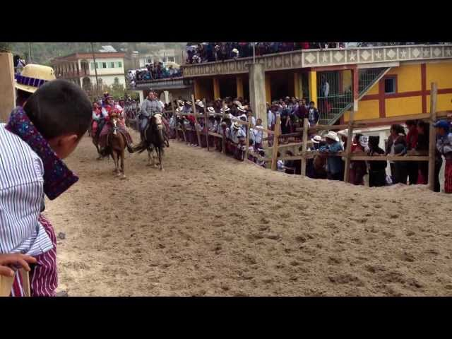 Horse Races in Todos Santos, Guatemala Travel Video
