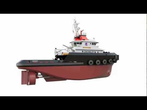Jensen Ocean Class Tug