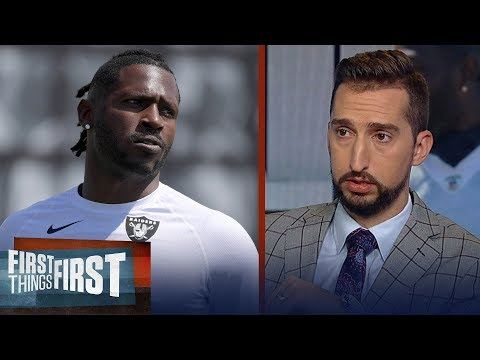 AB's productivity will be 'more difficult' with Raiders, talks Big Ben | NFL | FIRST THINGS FIRST thumbnail