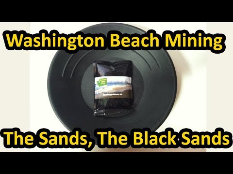 Washington Beach Mining 6oz Cape Disappointment Paydirt Review (eBay Seller)