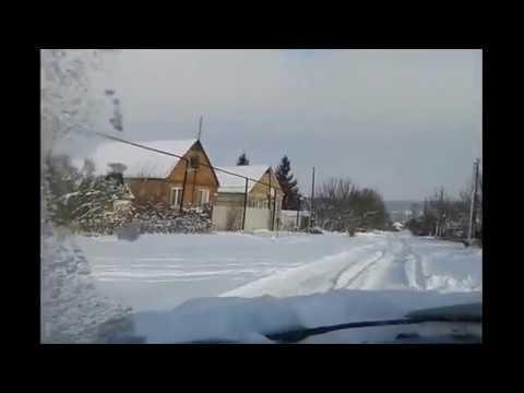 Тест драйв Пежо 309 по сугробам! Test Drive Peugeot 309!