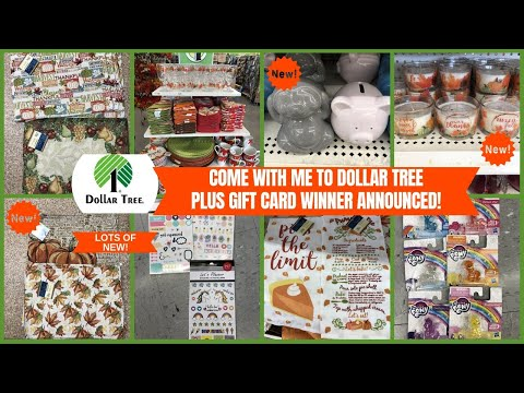 COME WITH ME TO DOLLAR TREE 🌳 ALL NEW FINDS 😮 MUST SEE SO MUCH NEW~SHOP WITH ME DOLLAR TREE!