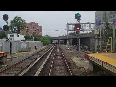 Long Island Railroad (LIRR) M3 Front Window EXPRESS Ride Penn Station to Douglaston