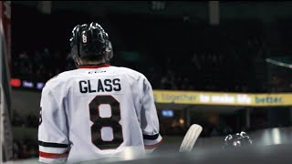 Cody Glass has turned heartbreak into passion & drive in his NHL quest
