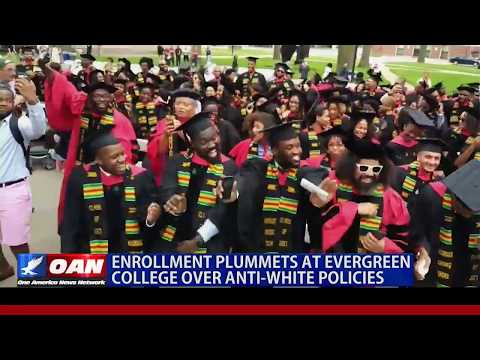 Enrollment Plummets at Evergreen College Over Anti-White Policies