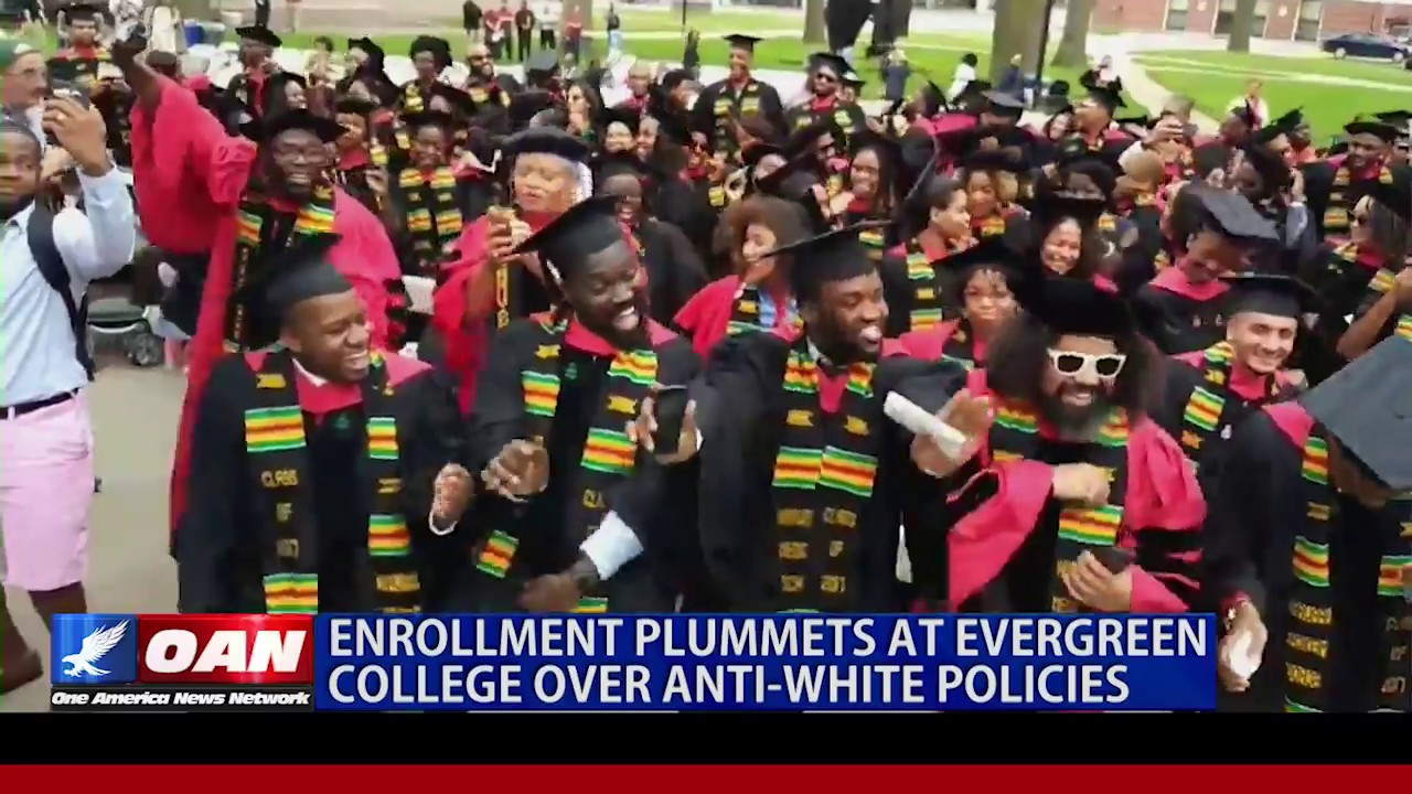 Download Enrollment Plummets at Evergreen College Over Anti-White Policies