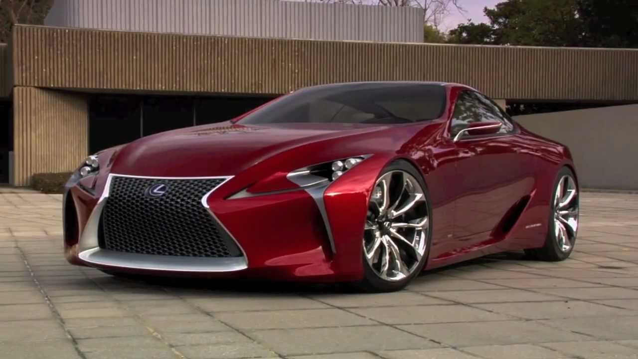 lexus lf-lc concept built by five axis