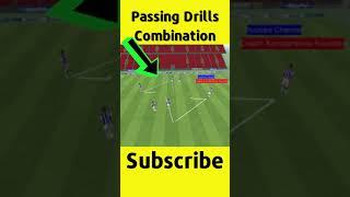 🎯 Passing Combination Drills ⚽