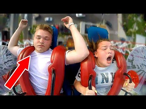 Patrick Sanders - Dudes Passing Out ON Slingshot Rides Are Hilarious!!