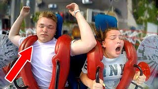 Boys Passing Out | Funny Slingshot Ride Compilation