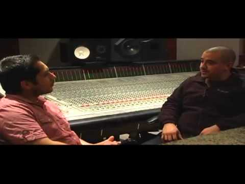 Unico Dialecto in the studio with Zacarias