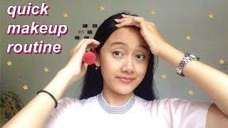 my under 10 minute makeup routine!
