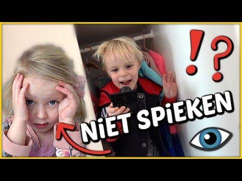 HiDE AND SEEK ( verstoppertje ) MET 6 CAMERA'S 😱   Bellinga Familie Vloggers #1261