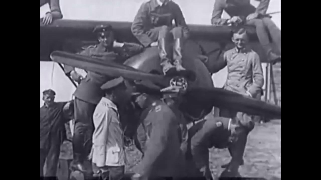 Goering and von Richthofen in Belgium 1916-18 - YouTube