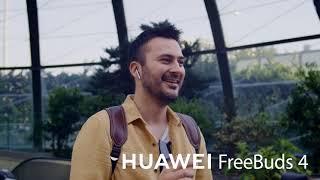 Yüksek Çözünürlük Ses ile HUAWEI FreeBuds 4.