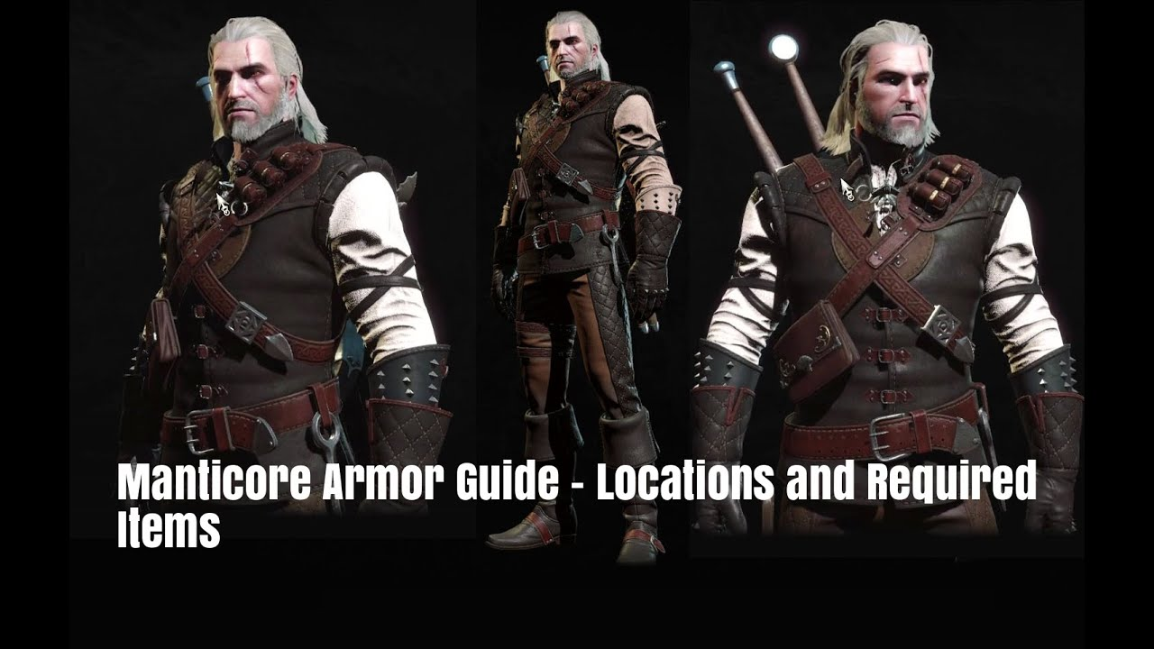 the witcher 3 starting guide